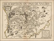 France Map By Damien de Templeux