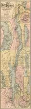 Map By Seneca Ray Stoddard