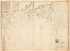 New England Map By Charles Copley