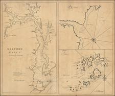British Isles Map By John Senex / Edmund Halley / Nathaniel Cutler