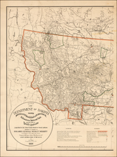 Plains and Rocky Mountains Map By U.S. Army Corps of Topographical Engineer