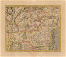Northern Italy Map By  Gerard Mercator