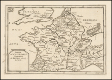 France Map By Pierre Du Val