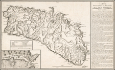 Spain and Balearic Islands Map By Pierre Antoine Tardieu
