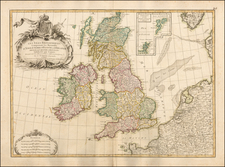 British Isles Map By Jean Janvier