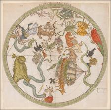 Celestial Maps Map By Gerard Hulst Van Keulen / Pieter Nieuwland
