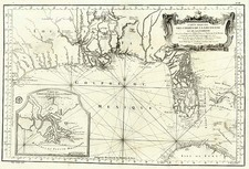 South and Southeast Map By Jacques Nicolas Bellin
