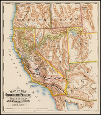 California Map By F. T. Newbery