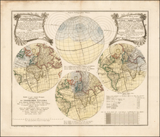Curiosities and Celestial Maps Map By Homann Heirs
