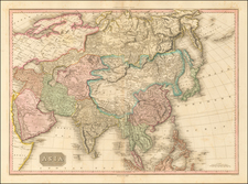 Asia and Asia Map By John Pinkerton