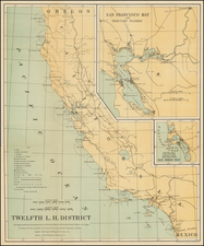 California Map By Andrew B. Graham