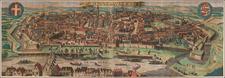 Austria Map By Alexis-Hubert Jaillot