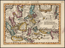 Southeast Asia and Philippines Map By Francois Jollain