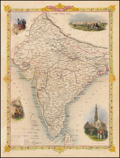 India Map By John Tallis