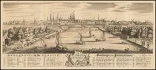 Netherlands and Amsterdam Map By Thomas Jefferys