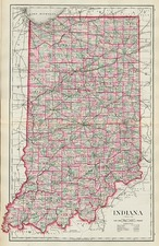 Midwest Map By O.W. Gray