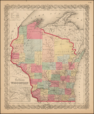 Midwest and Wisconsin Map By Colton