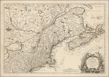 Mid-Atlantic, South, Southeast, Midwest and American Revolution Map By Ambrose Verrier  &  Francoise Perrier
