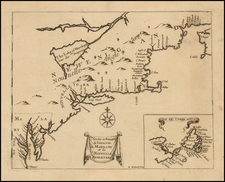 New England, Mid-Atlantic and Virginia Map By Henri Justel