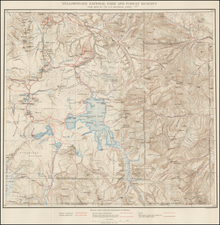 Rocky Mountains and Wyoming Map By U.S. Geological Survey