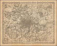 British Isles Map By Joseph Hutchins Colton