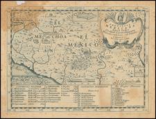 Mexico Map By Domenico Mariano Franceschini