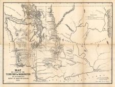 Map By General Land Office / A. Hoen & Co.