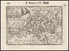 Philippines Map By Petrus Bertius