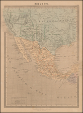 Mexico Map By L Turgis