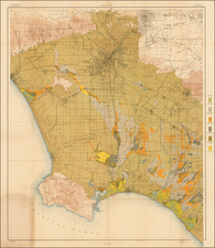 California Map By U.S. Department of Agriculture