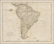 South America Map By John Reid