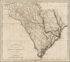Southeast and South Carolina Map By John Reid
