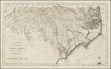 Southeast and North Carolina Map By John Reid
