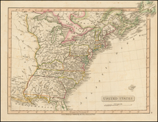 United States Map By Charles Smith