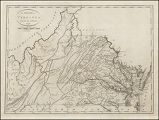 Southeast and Virginia Map By John Reid