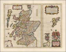 Scotland Map By Johannes Blaeu