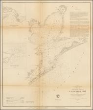 Texas Map By U.S. Coast Survey