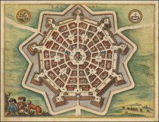Italy, Northern Italy and Other Italian Cities Map By Pieter van der Aa