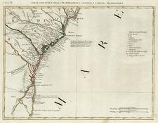 Southeast Map By Antonio Zatta