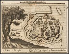 Ukraine Map By Johann Christoph  Wagner