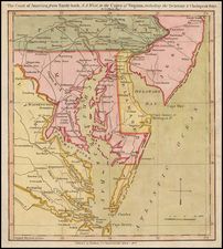 Mid-Atlantic, Maryland, Southeast and Virginia Map By John Luffman