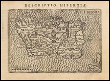 Ireland Map By Petrus Bertius