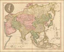 Asia and Asia Map By William Faden