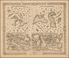 Midwest and Curiosities Map By G.W.  & C.B. Colton