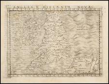 British Isles Map By Giacomo Gastaldi