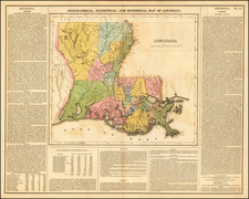 South Map By Henry Charles Carey  &  Isaac Lea
