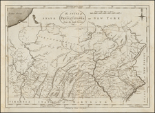 Mid-Atlantic and Pennsylvania Map By John Reid