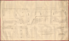 New York City Map By Casimir Goerck / Richard D. Cooke / Joseph Bridges