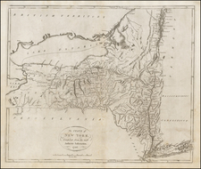 New York State Map By John Reid