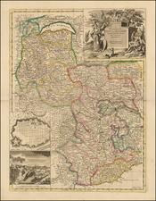 Switzerland and Italy Map By John Senex